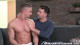 FalconStudios Upset Euro Hunk Rough Fuck By Hot Muscle Australian