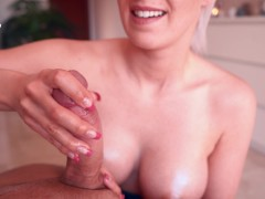 Intense magic point handjob by hot girlfriend - TheMagicMuffin