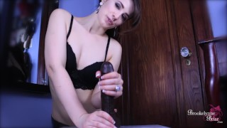 Brookelynne Briar Basic Breathplay And Slow Strokes JOI