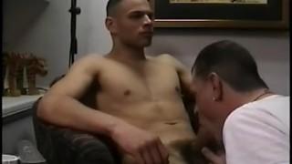 Boy straight a bj gets paco cock retro