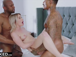 BLACKED Khloe Kapri Gets Two BBCs For Valentines Day