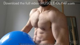 Muscle Beast & The Smiley Faced Balloon!(Trailer 1)