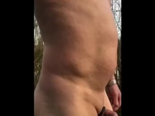 Long naked walk down country lane