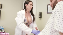Trickery - Angela White uses her big tits and tight pussy to help a patient