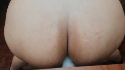 cute chubby trans bbw takes it balls deep and MOANS LIKE A BITCH!
