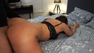 HOT  SEXY GIRL CHEATS ON BOYFRIEND WHILE HE'S AT WORK