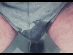 Pee desperation wetting boxers and panties