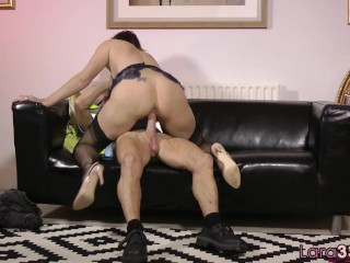 Tiny Tits Getting Fucked Fucking, Alluring milf riding seniors cock In stockings Mature MILF British
