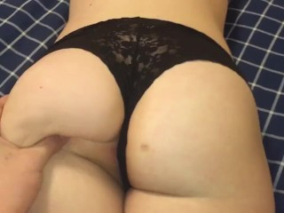 Playing with my girls tight pussy