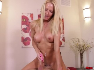 Tied, bound and made to cum-Lexi Reinz Mean Massage