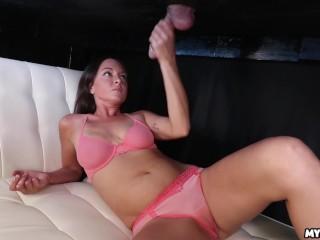 Amateur Cock Milking after MASSAGE