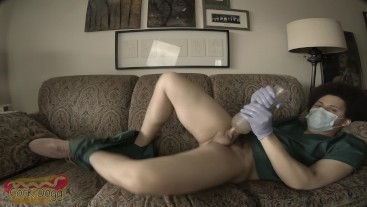 Male Nurse Fucking Fleshlight on Break