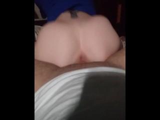 Riding on this nice dick