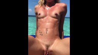 Our Honeymoon sex tape in paradise Part 1-Sex Vacations !!