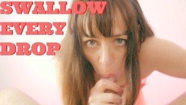 After Work Delight - Relaxing Blowjob, Titjob, Handjob and Swallow!