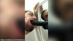 Gay gay Suck big Dildo. ONLYFANS.COM/MISHAFROMRU