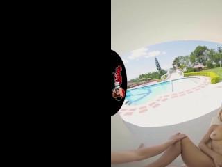 VRLatina.com – Veronica Leal in outdoor 5K VR sex