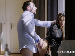 Porno Chicas Golosas Fucking, Nice quick sex with CleA Gaultier Big Dick Blowjob Small Tits French