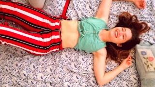 Creampie in Hot redhead teen