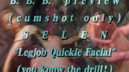 "B.B.B. preview: Selen ""Legjob quickie & cumshot"" (cumshot only) AVI no Slow"