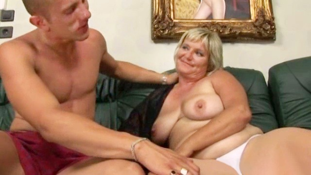 Real grannie sex Naughty mature gets fucked by a younger guy