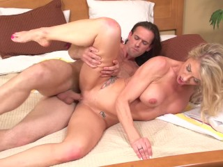 Quid Pro Quo Sex For Car Mpegs Porn Fucking, Stepson caught spying On Mom SynthiA Fixx Big Tits Blonde Cumshot MILF Pornstar Reality