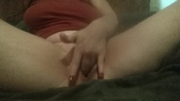 Playing with my tight little pussy, muscle control. ♡