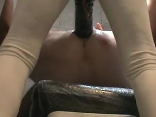 SUBMISSIVE HUSBAND- Twelve Inch Strapon Fetish