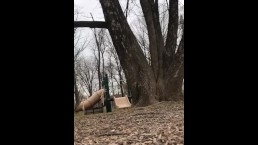 Tried To Masterbate At the Park and Got Caught