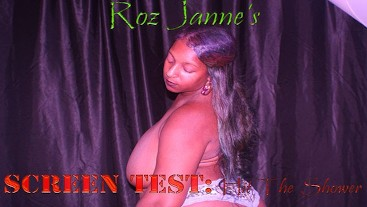 """Roz Janne's """"Screen Test: Hit the Showers"""""""