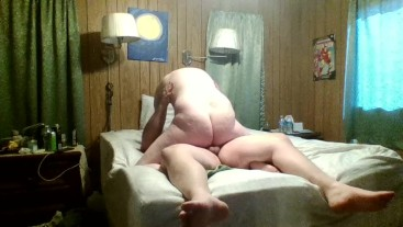 Daddy Stretching Michaels Hole, Then He Cums In Daddy's Ass