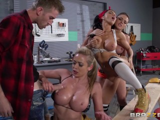 Mens Latex Briefs Fucking, Brazzers- Krissy, MiA and Romi made Dannys best dream ever, happened