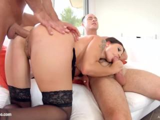 Redhead Handjob Video Fucking, Billie Star hardcore creampie scene with dripping cum by all Internal Babe