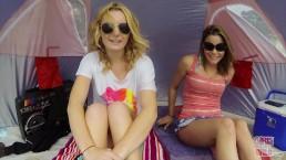 GIRLS GONE WILD - A Couple Of Young, Beautiful Lesbians Having Fun