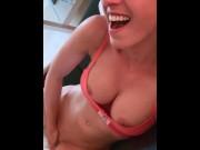 Ich finger meine nasse Pussy bis ich komme - Privates Handyvideo! LeoniePur