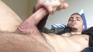 WANKING OUT A 5DAY LOAD! BIG CUMSHOT