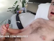 FIRST WANK IN FOUR DAYS (LOTS OF PRECUM)