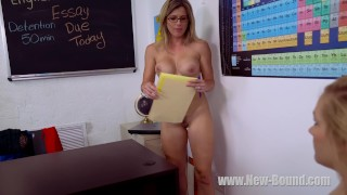 Daisy Lynne and Cory Chase in the Innocent Student