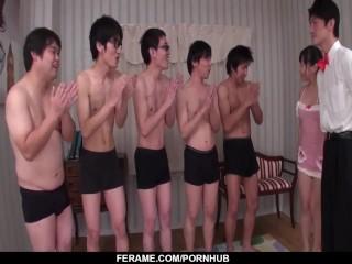 Japanese blow bang by naked Tomoka Sakurai - - More at Slurpjp.com