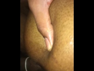 Ebony squirts all day (fucked my phone up)