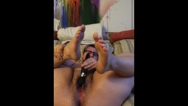 Huge squirt session