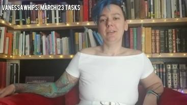 March 23 Tasks