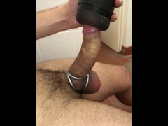 INTENSE and ROUGH MASTURBATION ** URETHRAL PLUG **