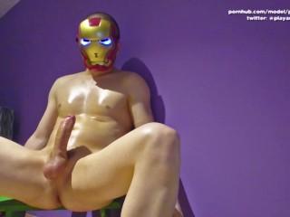 BREAKING NEWS: Tony Stark is a bisexual perv, loves massive self facials