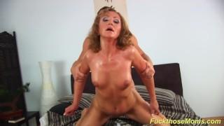 redhead mom big cock doggystyle fucked