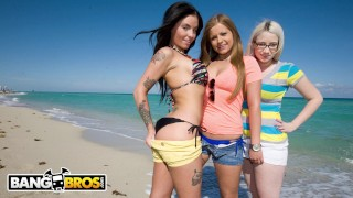 BANGBROS - Mercedes Lynn, Ranie Mae, and Christy Mac Have A Lesbian 3some