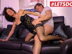 LETSDOEIT - Naughty German Gilf Fucked Hard By Lover