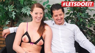 LETSDOEIT - Horny German Couple Fucks Hard On Their First SexTape