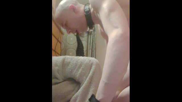 Gay slave toilet training - Deep throat training every morning
