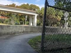 Daytime cum on a sidewalk in Miami (TS PublicPrincess)